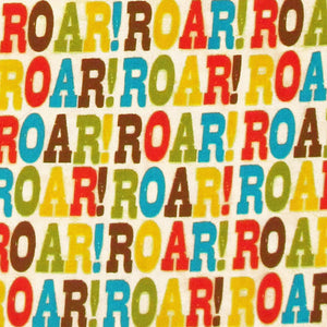 "ROBERT KAUFMAN ""ROAR!"" ROAR! Bermuda by 1/2 yard"
