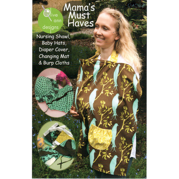 "OLIVE ANN ""MAMA'S MUST HAVE"" Sewing Pattern"