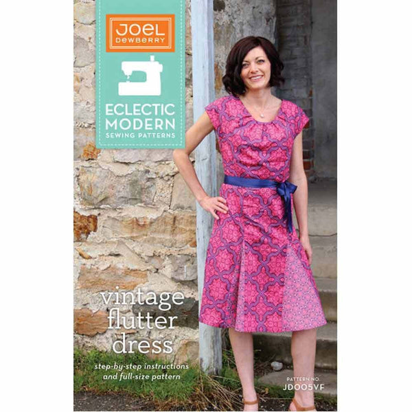 "JOEL DEWBERRY ""VINTAGE FLUTTER DRESS"" Sewing Pattern"