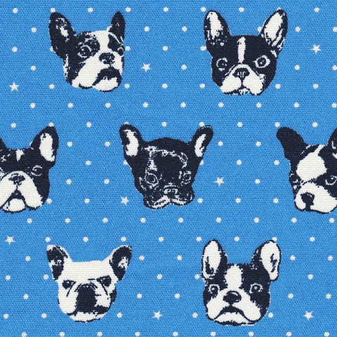 "KOKKA ""FRENCH BULLDOG"" Blue"