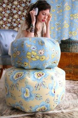 "AMY BUTLER ""GYPSY CARAVAN"" WILD POPPY Milk 34 inches"