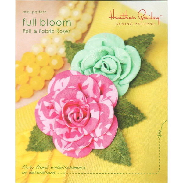"HEATHER BAILEY ""FULL BLOOM"" Mini Pattern"