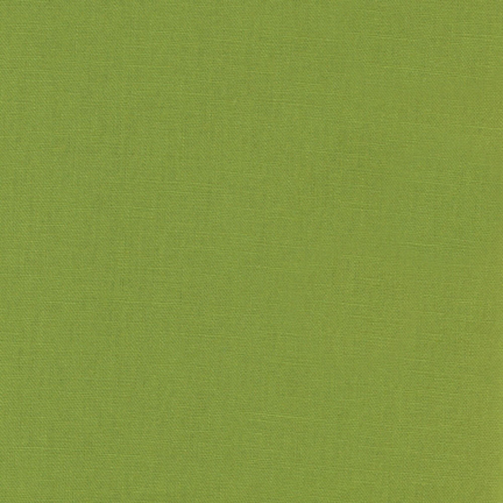 "ROBERT KAUFMAN ""ESSEX"" Linen Cotton Blend LIME by the 1/2 yard"