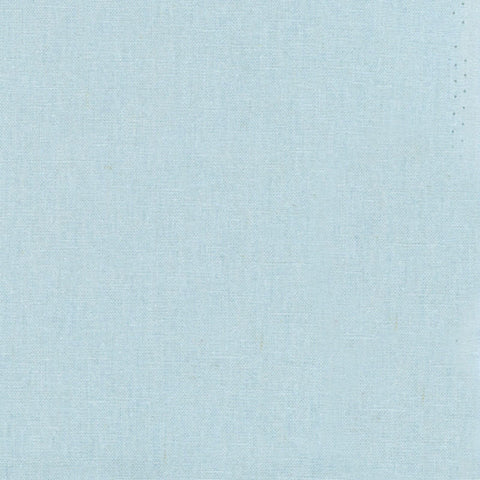 "ROBERT KAUFMAN ""ESSEX"" Linen Cotton Blend LT BLUE by the 1/2 yard"