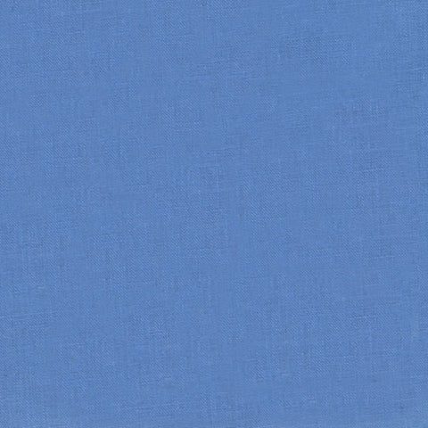 "ROBERT KAUFMAN ""ESSEX"" Linen Cotton Blend MED PERI by the 1/2 yard"