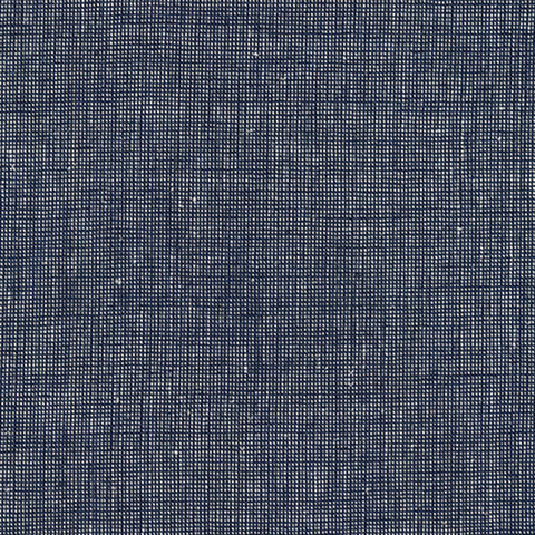 "ROBERT KAUFMAN ""ESSEX YARN DYED HOMESPUN"" Linen Cotton Blend NAVY by the 1/2 yard"