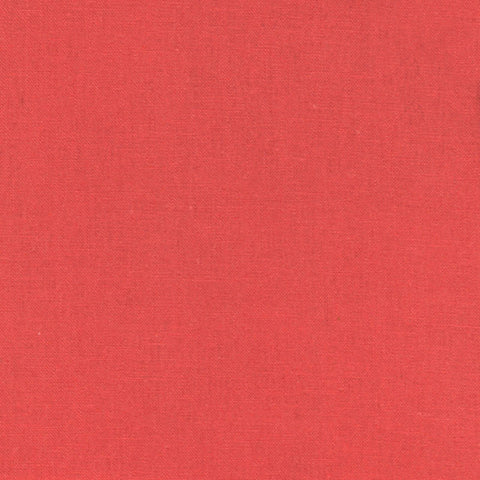 "ROBERT KAUFMAN ""ESSEX"" Linen Cotton Blend ORANGE by the 1/2 yard"