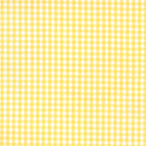 "ROBERT KAUFMAN ""CAROLINA GINGHAM 1/8"" P-5689-14 YELLOW by the 1/2 yard"
