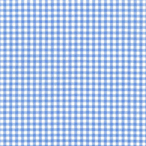 "ROBERT KAUFMAN ""CAROLINA GINGHAM 1/8"" P-5689-17 PERIWINKLE by the 1/2 yard"
