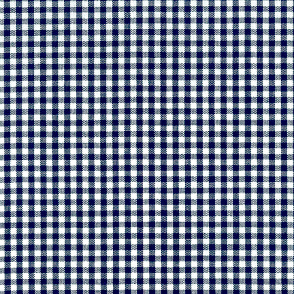 "ROBERT KAUFMAN ""CAROLINA GINGHAM 1/8"" P-5689-18 NAVY by the 1/2 yard"