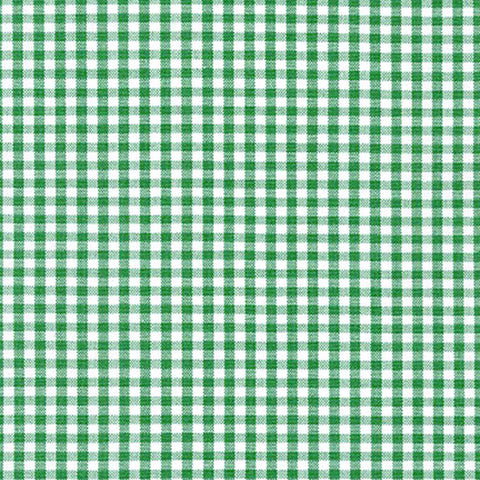"ROBERT KAUFMAN ""CAROLINA GINGHAM 1/8"" P-5689-28 KELLY by the 1/2 yard"