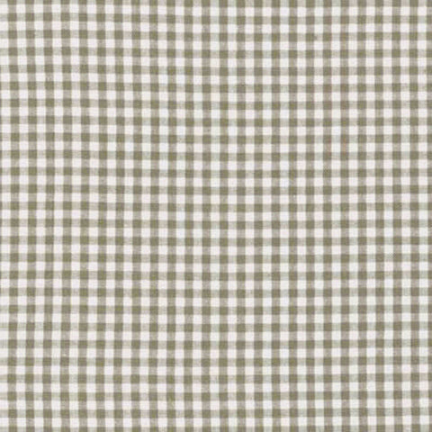 "ROBERT KAUFMAN ""CAROLINA GINGHAM 1/8"" P-5689-49 OLIVE by the 1/2 yard"