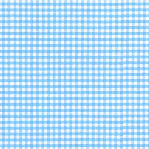 "ROBERT KAUFMAN ""CAROLINA GINGHAM 1/8"" P-5689-56 POND by the 1/2 yard"