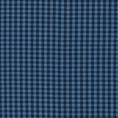 "ROBERT KAUFMAN ""CAROLINA GINGHAM 1/8"" P-5689-62 INDIGO by the 1/2 yard"