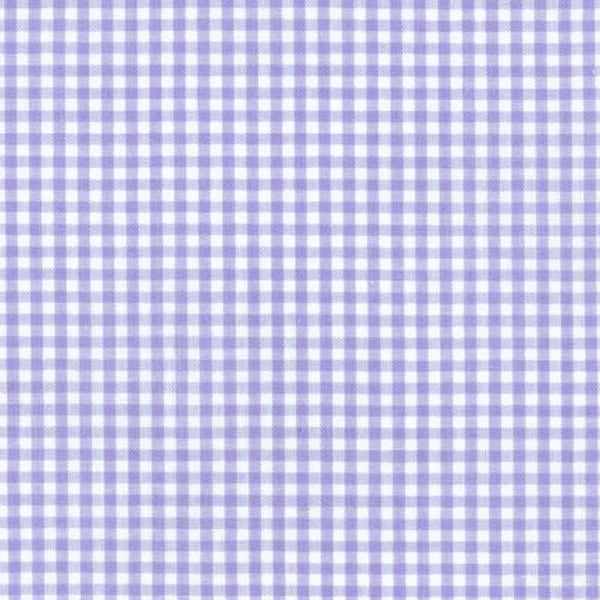 "ROBERT KAUFMAN ""CAROLINA GINGHAM 1/8"" P-5689-7 LAVENDER by the 1/2 yard"