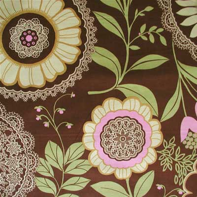 "AMY BUTLER ""LOTUS"" LACEWORK Brown 14.5 inches"
