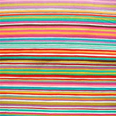 "ALEXANDER HENRY ""JUICY STRIPE"" Brite by 1/2 yard"