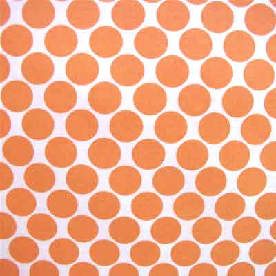 "AMY BUTLER ""LOTUS"" FULL MOON POLKA DOT Tangerine"