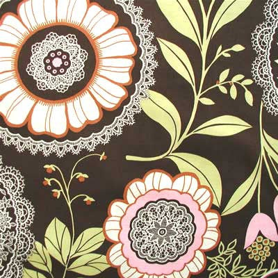 "AMY BUTLER ""LOTUS"" LACEWORK Olive by 1/2 yard"