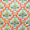"AMY BUTLER ""BELLE"" FRENCH WALLPAPER Orange 27.5 inches"
