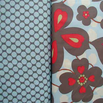"AMY BUTLER ""LOTUS"" FULL MOON POLKA DOT Slate"
