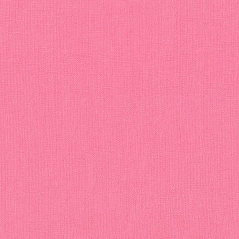 "ROBERT KAUFMAN ""ESSEX"" Linen Cotton Blend PINK by the 1/2 yard"