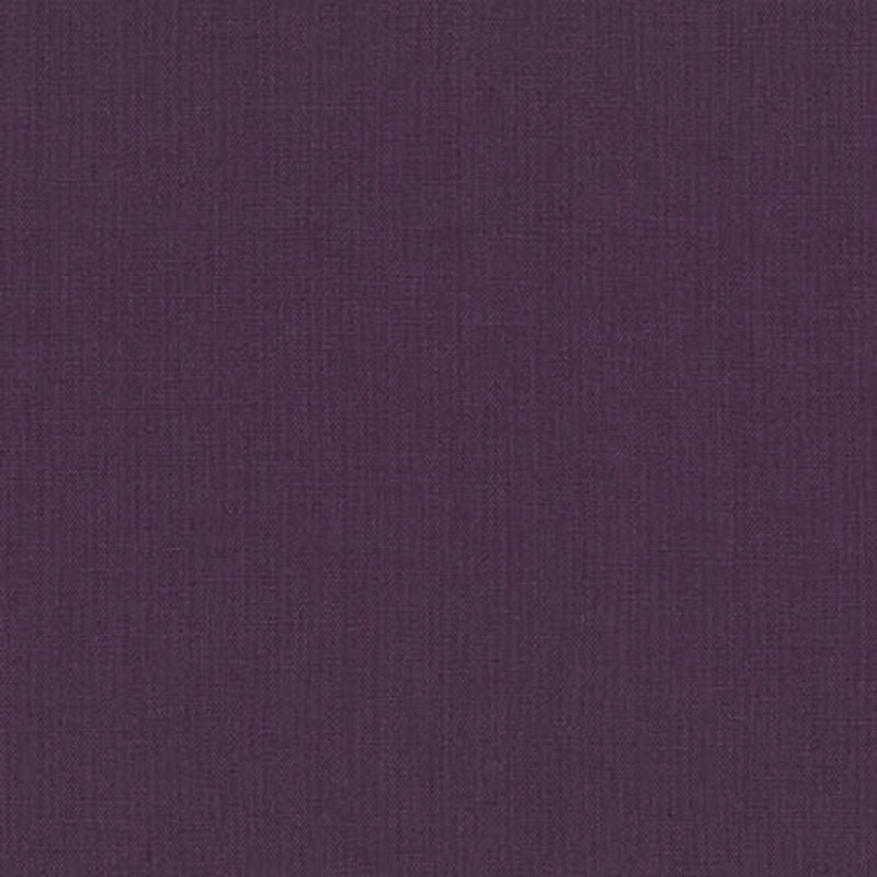 "ROBERT KAUFMAN ""ESSEX"" Linen Cotton Blend PLUM by the 1/2 yard"
