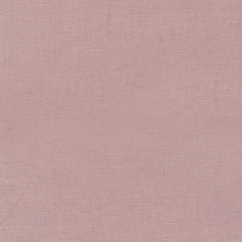 "ROBERT KAUFMAN ""ESSEX"" Linen Cotton Blend ROSE by the 1/2 yard"