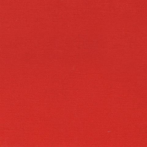 "ROBERT KAUFMAN ""ESSEX"" Linen Cotton Blend RUBY by the 1/2 yard"