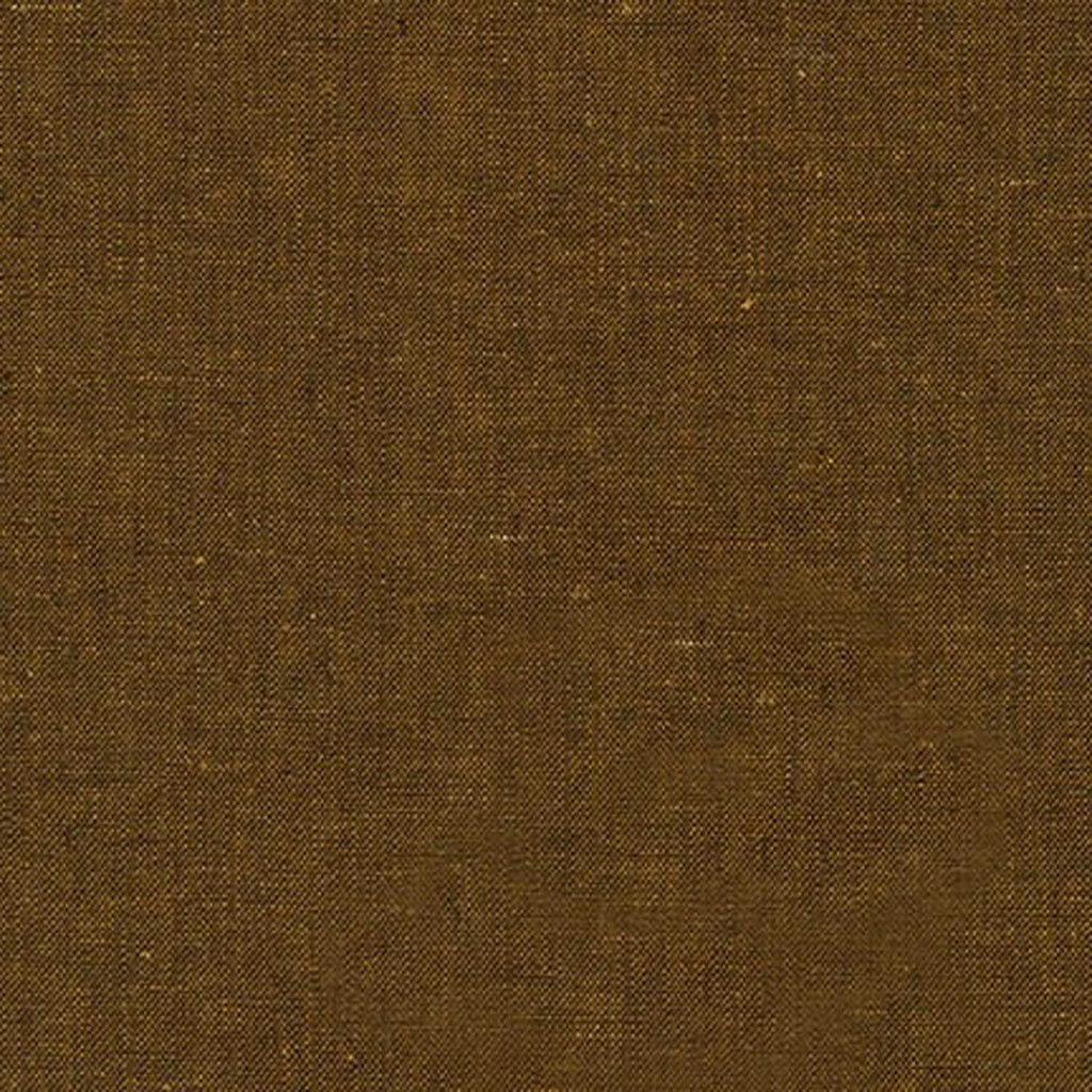 "ROBERT KAUFMAN ""ESSEX YARN DYED"" Linen Cotton Blend SPICE by the 1/2 yard"