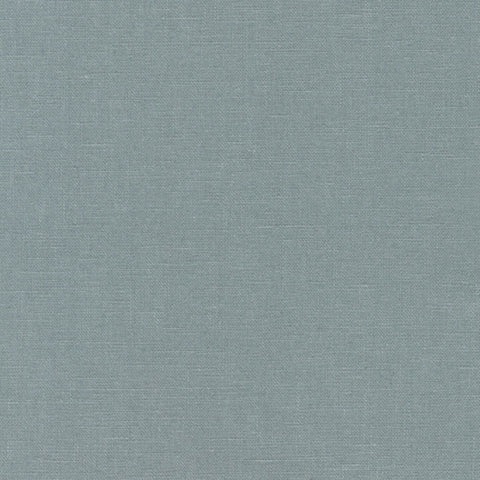"ROBERT KAUFMAN ""ESSEX"" Linen Cotton Blend STEEL by the 1/2 yard"