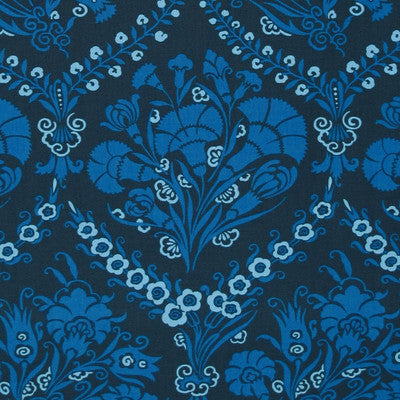 "AMY BUTLER ""CAMEO"" JOSEPHINE'S BOUQUET Cobalt by 1/2 yard"