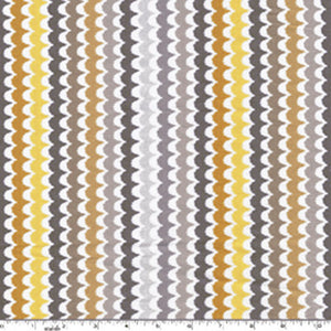 "MICHAEL MILLER ""SPA SCALLOP"" Citron by 1/2 yard"