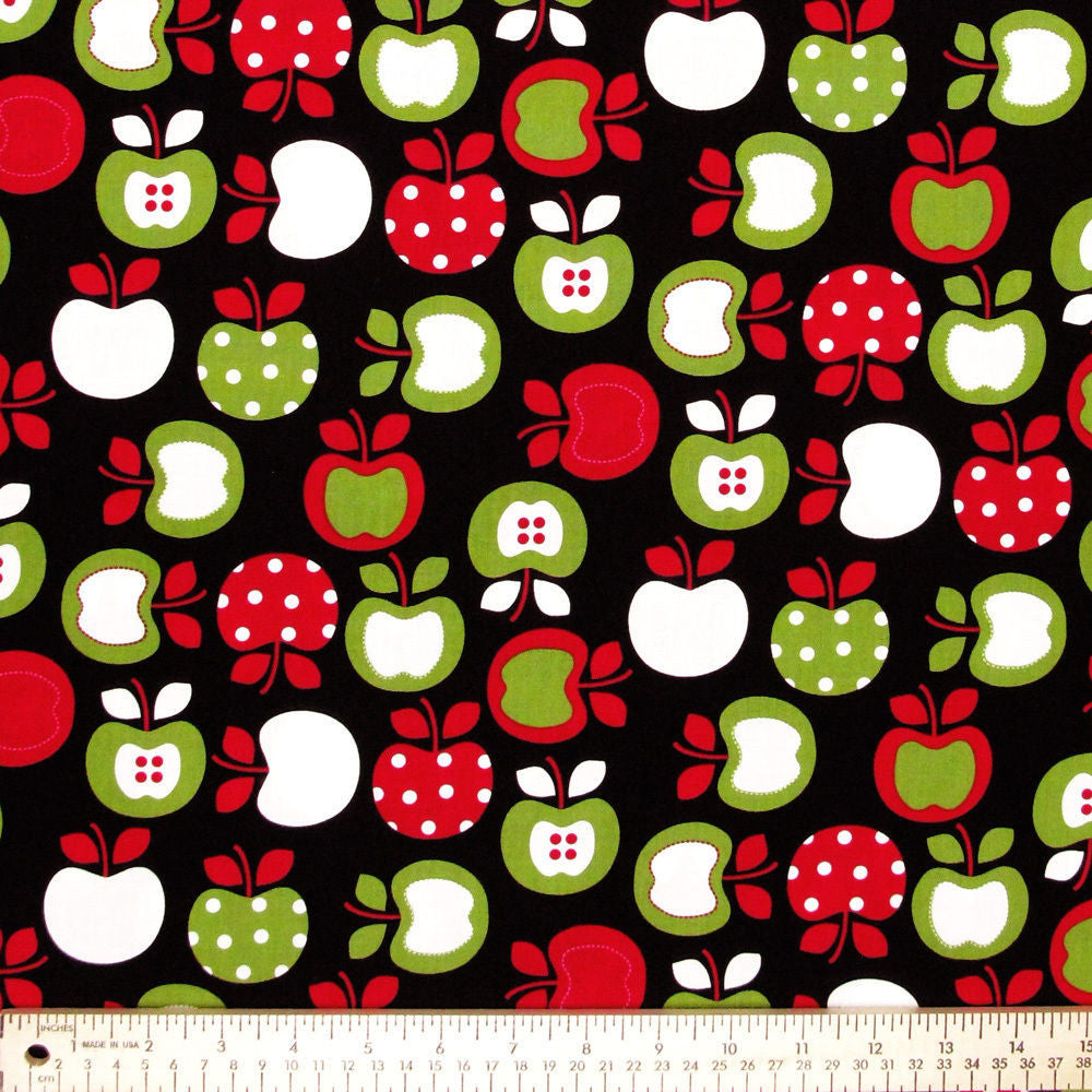 "ROBERT KAUFMAN ""METRO MARKET"" APPLES Black"