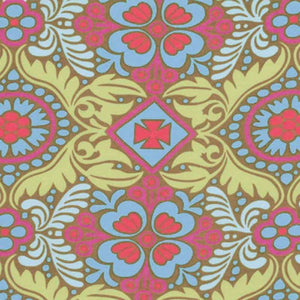 "AMY BUTLER ""BELLE"" KASHMIR Okra by 1/2 yard"