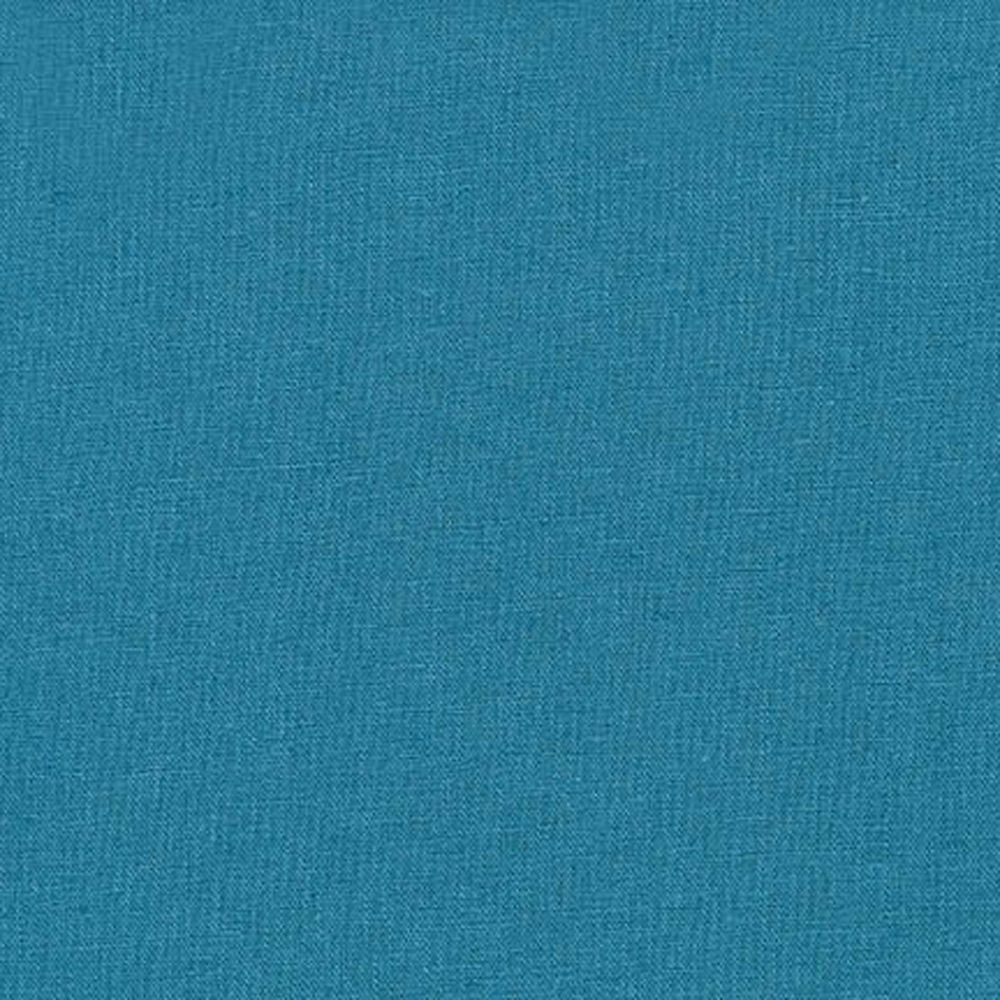 "ROBERT KAUFMAN ""ESSEX"" Linen Cotton Blend TEAL by the 1/2 yard"