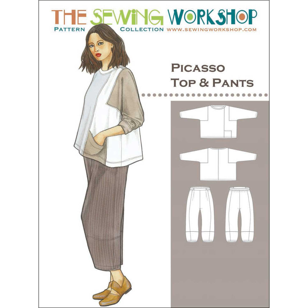 "THE SEWING WORKSHOP ""PICASSO TOP & PANTS"" Sewing Pattern"