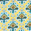 "AMY BUTLER ""BELLE"" FRENCH WALLPAPER Mustard 19.5 inches"