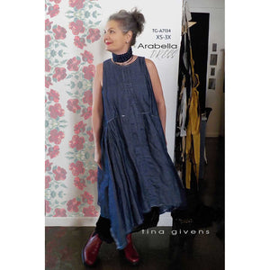 "TINA GIVENS ""ARABELLA DRESS TG-A7134"" Sewing Pattern"