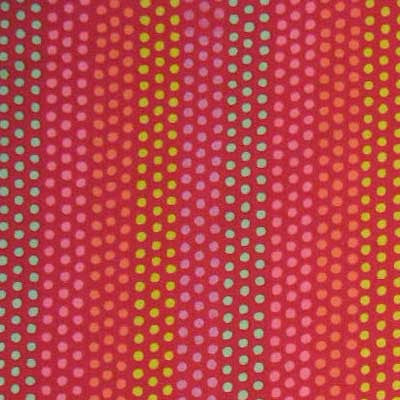 "ALEXANDER HENRY ""BIJOUX DOT"" Red by 1/2 yard"