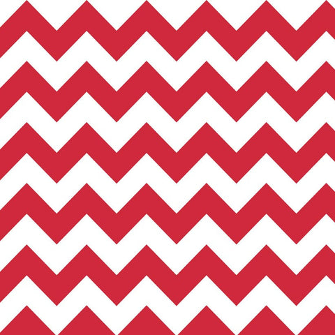 "RILEY BLAKE ""CHEVRON"" MEDIUM CHEVRON Red by 1/2 yard"