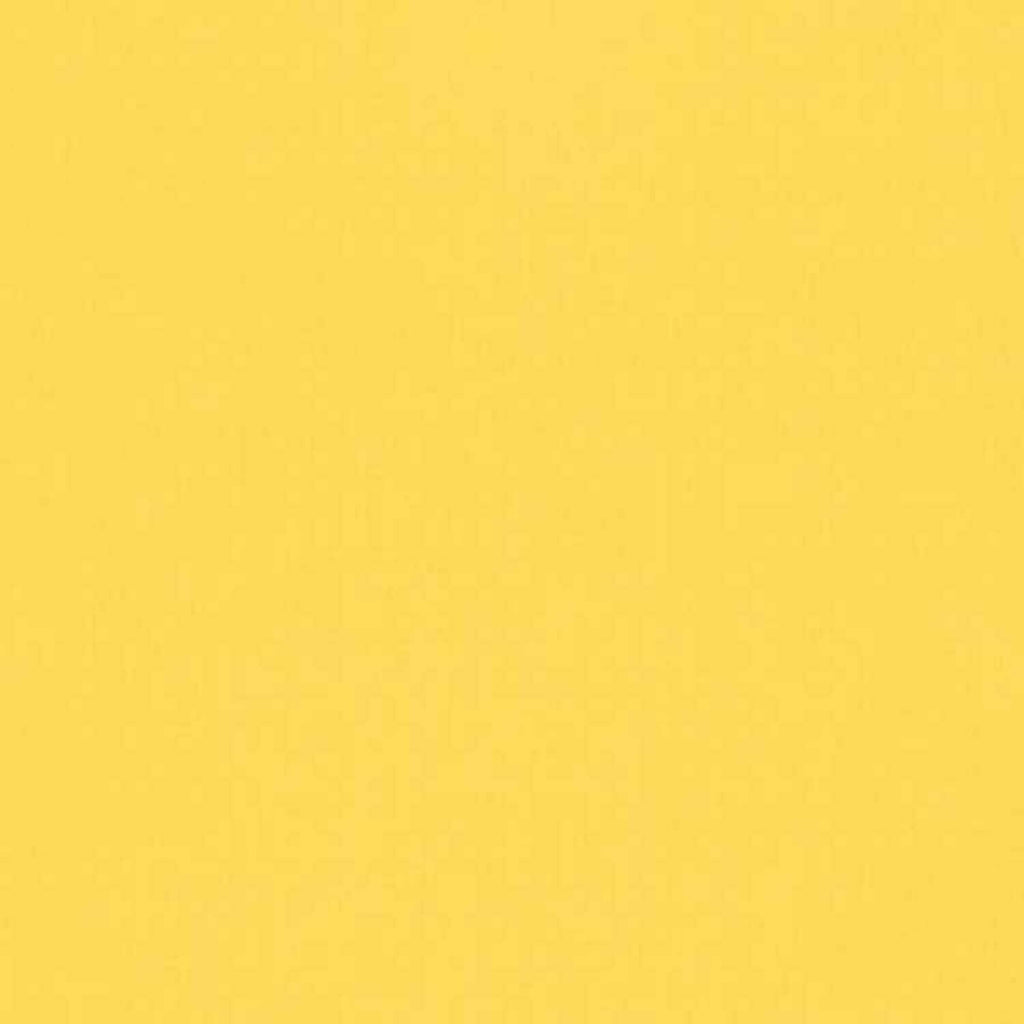 "ROBERT KAUFMAN ""KONA COTTON SOLID"" Yellow tones by the 1/2 yard"