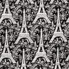 "MICHAEL MILLER ""EIFFEL TOWER"" Black 16.5 inches"