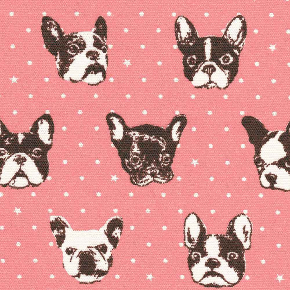 "KOKKA ""FRENCH BULLDOG"" Pink"
