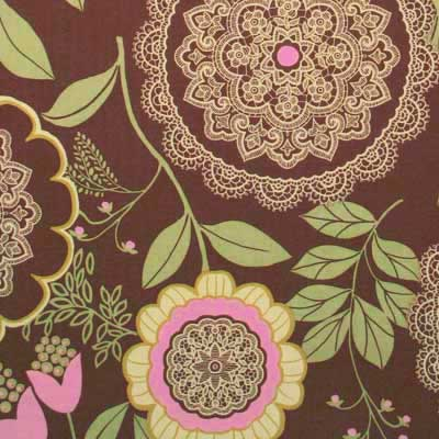 "AMY BUTLER ""LOTUS"" LACEWORK Brown"