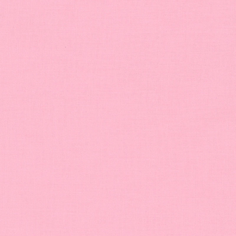 "ROBERT KAUFMAN ""KONA COTTON SOLID"" Pink tones by the 1/2 yard"