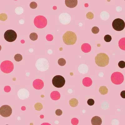 "ROBERT KAUFMAN ""PIMATEX BASICS"" BUBBLE DOT Pink"