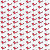 "ANDOVER ""SANTA CLAUS IS COMING TO TOWN"" BIRDS Natural by 1/2 yard"