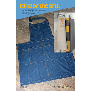 "CABBAGE ROSE ""KING OF THE GRILL"" Sewing Instruction"