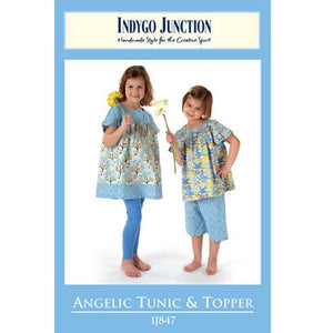 "INDYGO JUNCTION ""ANGELIC TUNIC & TOPPER"" Sewing Pattern"